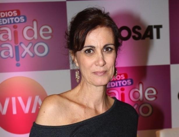 """3.jun.2013 - Márcia Cabrita volta a interpretar Neide Aparecida em episódios inéditos do """"Sai de Baixo"""" a serem exibidos em junho no canal Viva"""