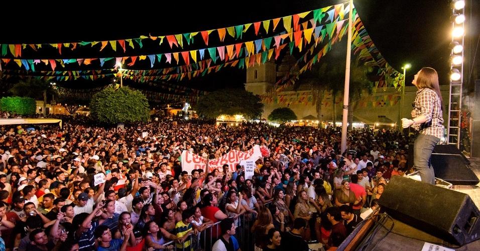 Festa de São João em Assú, no Rio Grande do Norte
