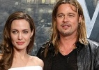 Angelina Jolie comemora 38 anos ao lado do marido - AFP PHOTO / ADAM BERRY