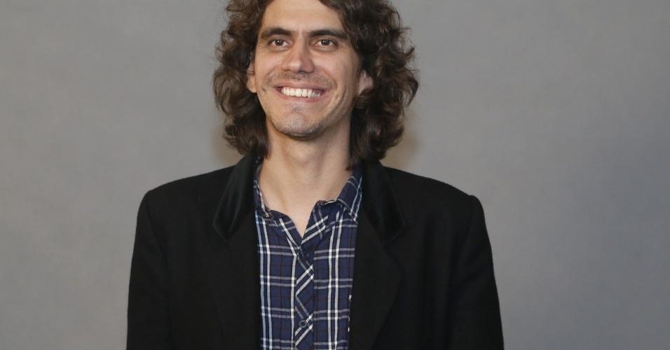"""4.jun.2013 - O músico Zeu Britto será o maestro Totó em """"Saramandaia"""""""