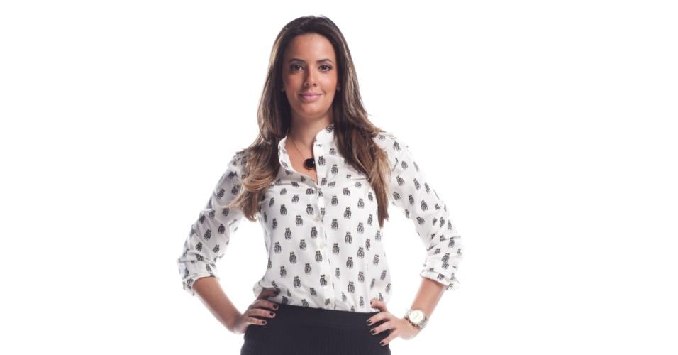 A jornalista Paloma Tocci