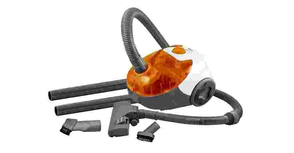 Aspirador de pó com filtro Hepa e potência de 1.400W, R$ 160; da Philco - Divulgação