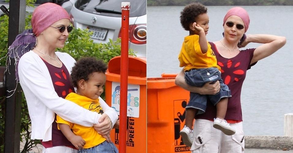Em julho de 2009, Drica Moraes contou que havia adotado um menino há cinco meses na Bahia, Mateus