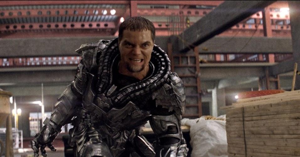 General Zod (Michael Shannon) em