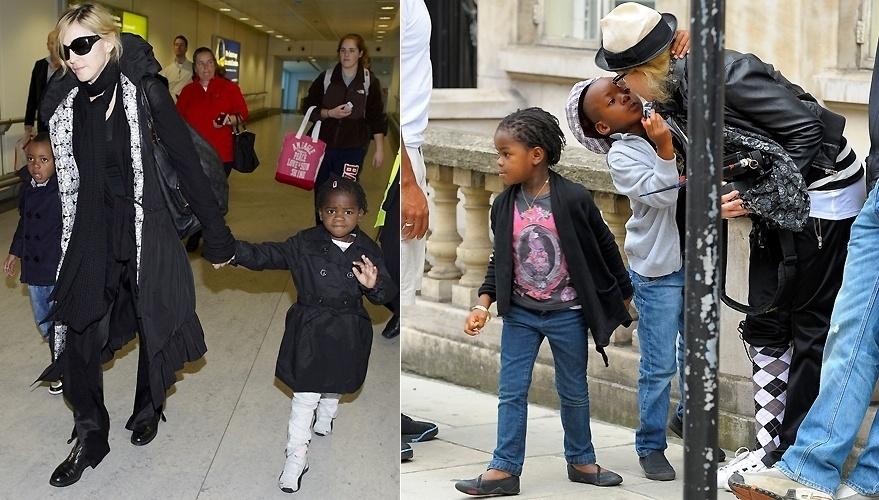 Madonna era apenas mãe de Lourdes Maria e Rocco quando, em outubro de 2006, decidiu adotar um menino do Maláui, David Banda, na época com 17 meses. Em junho de 2009, depois de muito luta na Justiça do Maláui, a cantora conseguiu a autorização e adotou a menina Mercy James, na época com quatro anos