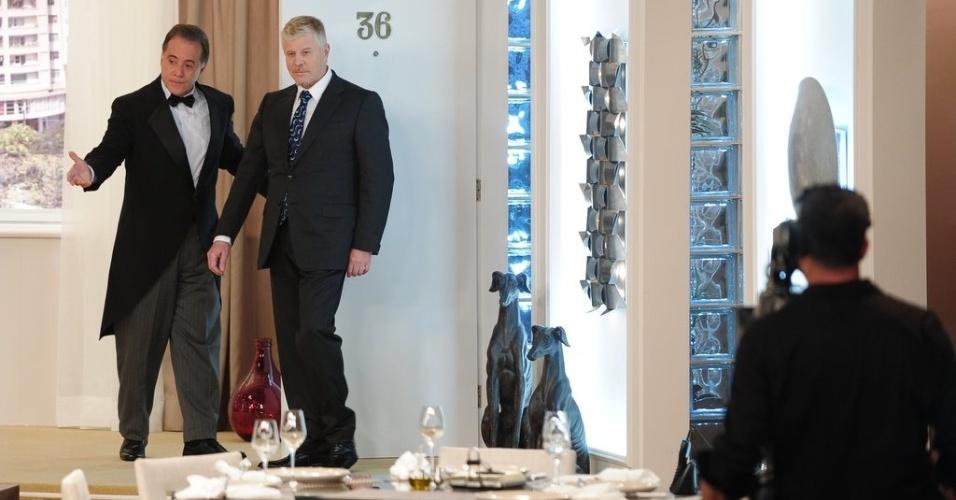 """4.jun.2013 - Os novos episódios de """"Sai de Baixo"""", que terminou originalmente há 11 anos, serão exibidos exclusivamente no canal a cabo """"Viva"""", onde o programa é reprisado até hoje"""