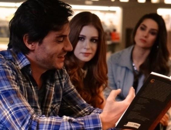"""Em """"Amor à Vida"""", Leila proíbe Thales de ver Nicole"""