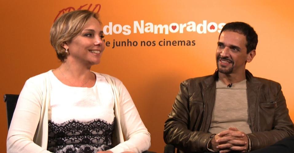 Heloísa Périssé e Marcelo Sacack falam sobre a comédia