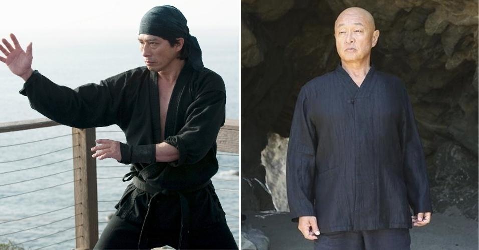 "Hiroyuki Sanada e Cary-Hiroyuki Tagawa em cena de ""Revenge"""