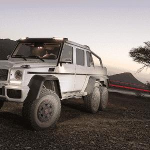 Mercedes-Benz G 63 AMG 6x6 - Divulgação
