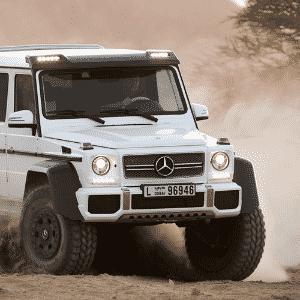 Mercedes-Benz G 63 AMG - Divulgação