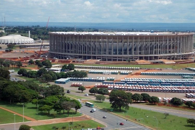 Estádio Nacional sediou o jogo de abertura da Copa das Confederações e vai abrigar partidas da Copa do Mundo em 2014