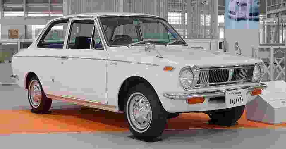 Toyota Corolla 1966 - Divulgação