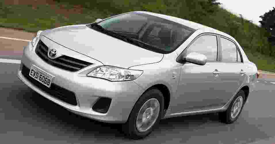 Toyota Corolla 2011-12 - Divulgação