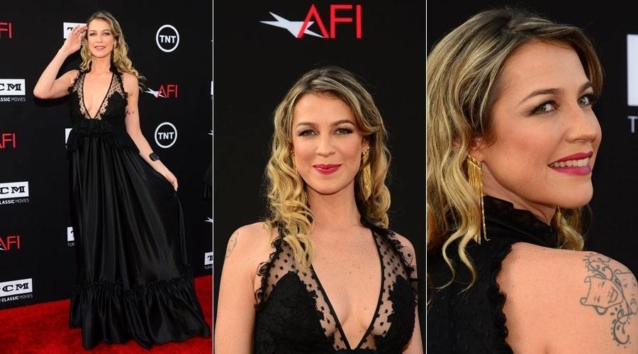 07.jun.2013 - Luana Piovani participa de festa de gala em Hollywood