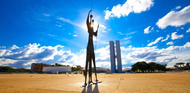 Vista da Praça dos Três Poderes, em Brasília: DF apresentou o melhor IDHM do país