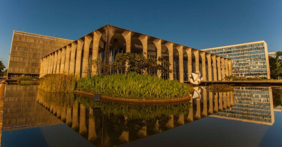 O Palácio do Itamaraty é um dos edifícios onde os turistas podem almoçar