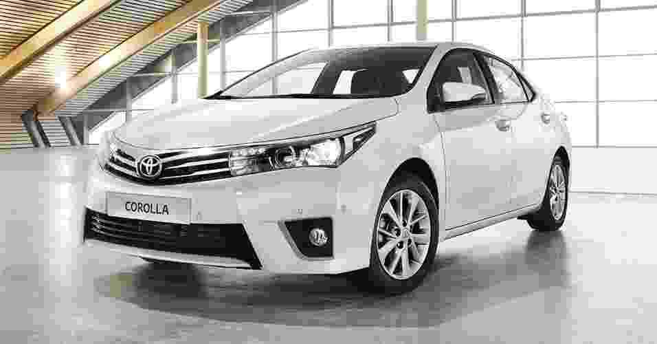 Toyota Corolla 2014 - Reprodução
