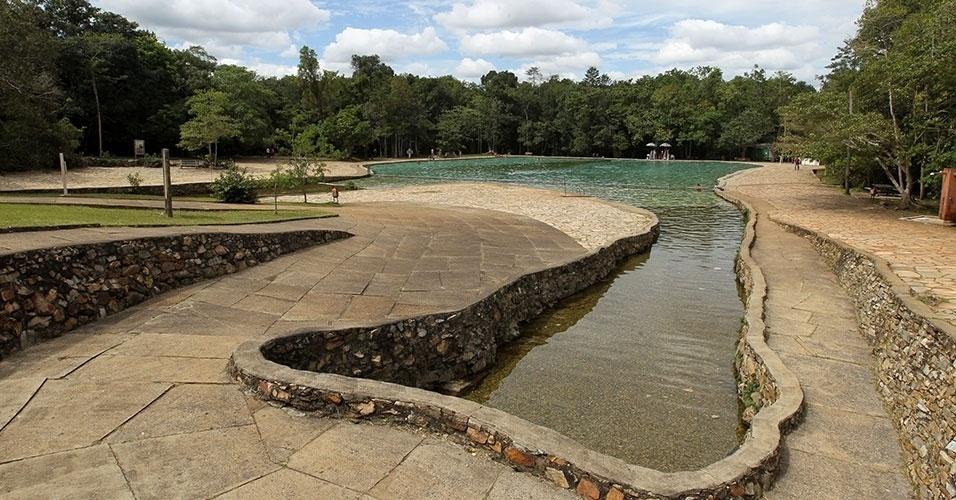 Gigante, o Parque Nacional de Brasília de 30 mil hectares foi criado em 1961 para preservar o meio ambiente contra o canteiro de obras em que se transformara Brasília