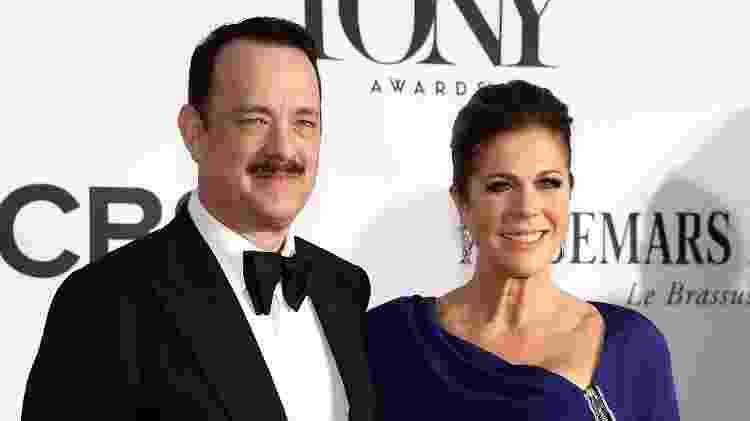 Tom Hanks e Rita Wilson - Neilson Barnard/Getty Images/AFP - Neilson Barnard/Getty Images/AFP