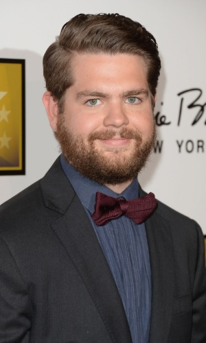 10.jun.2013 - O apresentador Jack Osbourne posa no tapete vermelho do Critic Choice Awards no Beverly Hilton Hotel em Los Angeles
