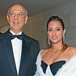 José Roberto Arruda e Flavia Peres, na época em que ele era governador do Distrito Federal