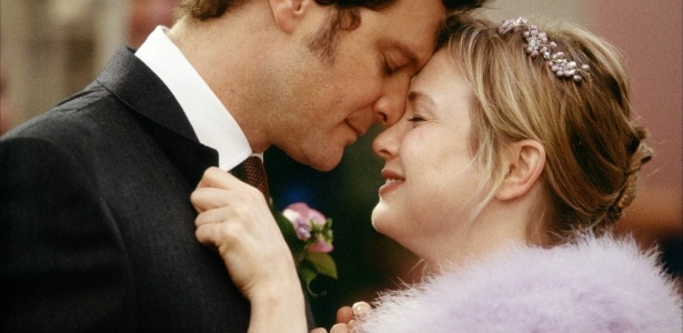 Collin Firth e Renée Zellweger (Bridget Jones) - Reprodução