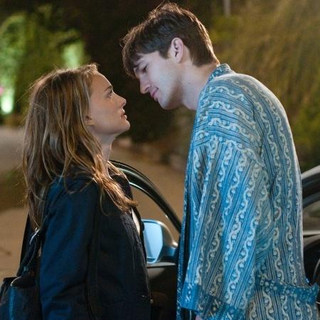 """Natalie Portman e Ashton Kutcher em cena da comédia """"Sexo Sem Compromisso"""""""