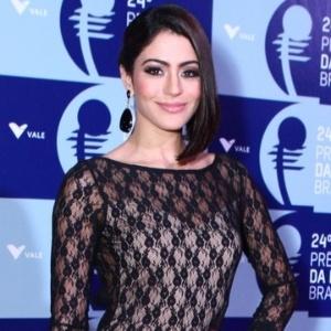 A atriz Carol Castro