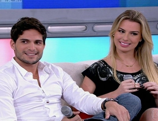 12.jun.2013 - Fernanda diz que exagerou na hora de conquistar André na casa do