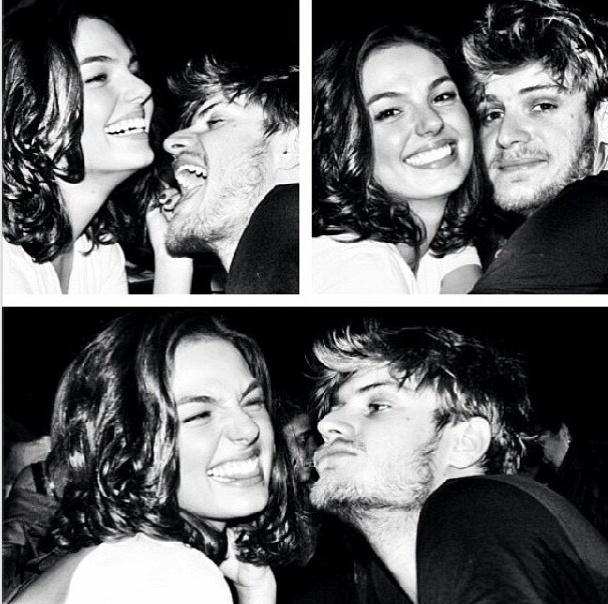 """12.jun.2013 - O namorado de Isis Valverde, Tom Rezende, se declarou para a atriz em sua página no Instagram: """"'... o amor é a coisa mais bonita que se pode ter...' Minha amiga, confidente, meu amor!! Amo muito vc! Parabéns p gnt!!"""""""
