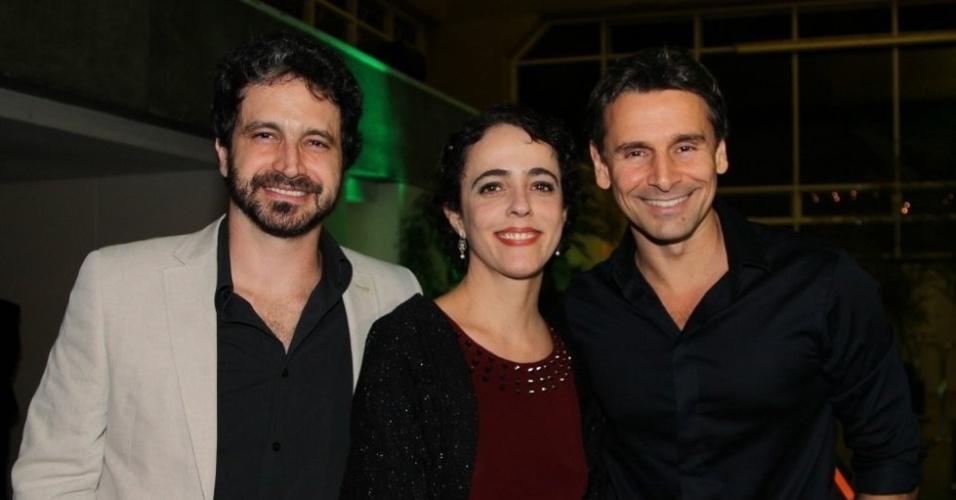 Caco Ciocler, Sílvia Buarque e Murilo Rosa