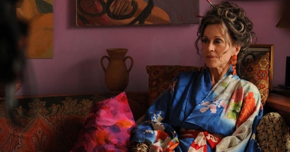 """Cena da comédia """"Paz, Amor e Muito Mais"""", de Bruce Beresford e estrelado por Jane Fonda"""