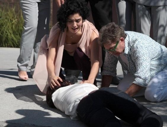 """Em """"Sangue Bom"""", Renata é atropelada por Tito"""