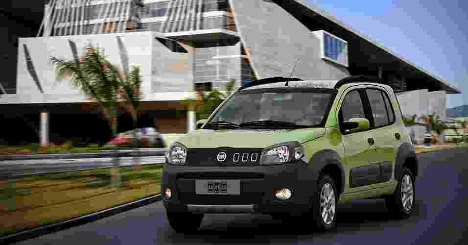 Fiat Uno Way Economy - Divulgação