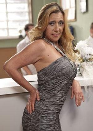"Rita Cadillac em cena de ""Amor à Vida"""