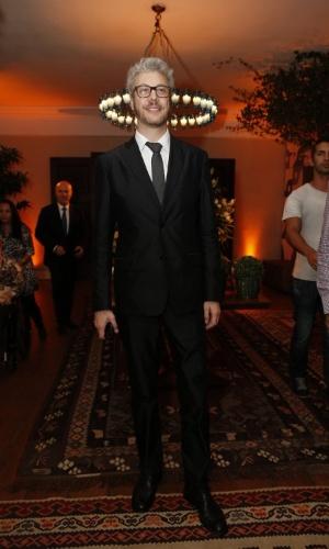 12.jun.2013 - Guilherme Weber chegam à festa do Prêmio da Música Brasileira
