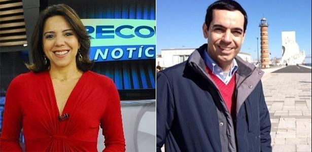 Os jornalistas Luciana Liviero e Mauro Tagliaferri estão saindo da Record