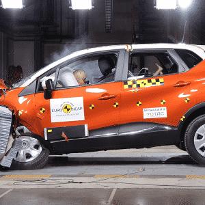 Renault Captur Euro NCAP - Divulgação