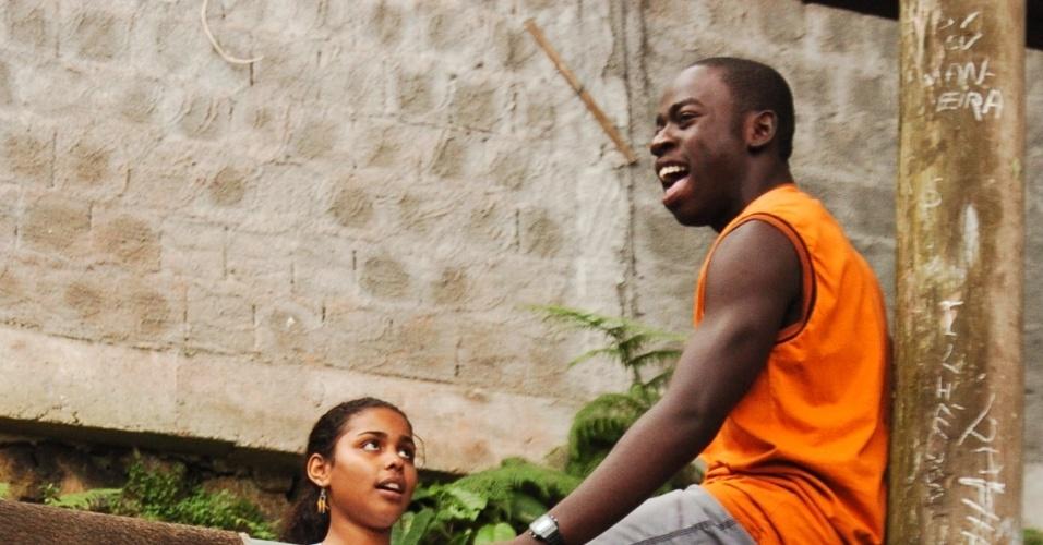 """Douglas Silva interpretou Acerola na série """"Cidade dos Homens"""""""