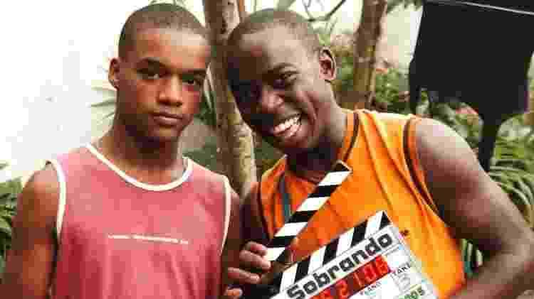 """Laranjinha (Darlan Cunha) e Acerola (Douglas Silva) eram os protagonistas de """"Cidade dos Homens"""", série que ficou no ar na Globo durante 2002 e 2005 - Divulgação/TV Globo - Divulgação/TV Globo"""