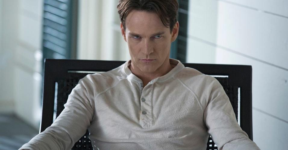 "O ator Stephen Moyer como ""Bill Compton"" na sexta temporada de ""True Blood"", que estreia dia 16 de junho na HBO"