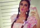 Nicole Bahls publica foto vestida de caipira - Reprodução/Instagram