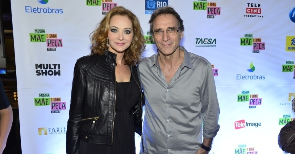 Alexandra Richter e Herson Capri no elenco de