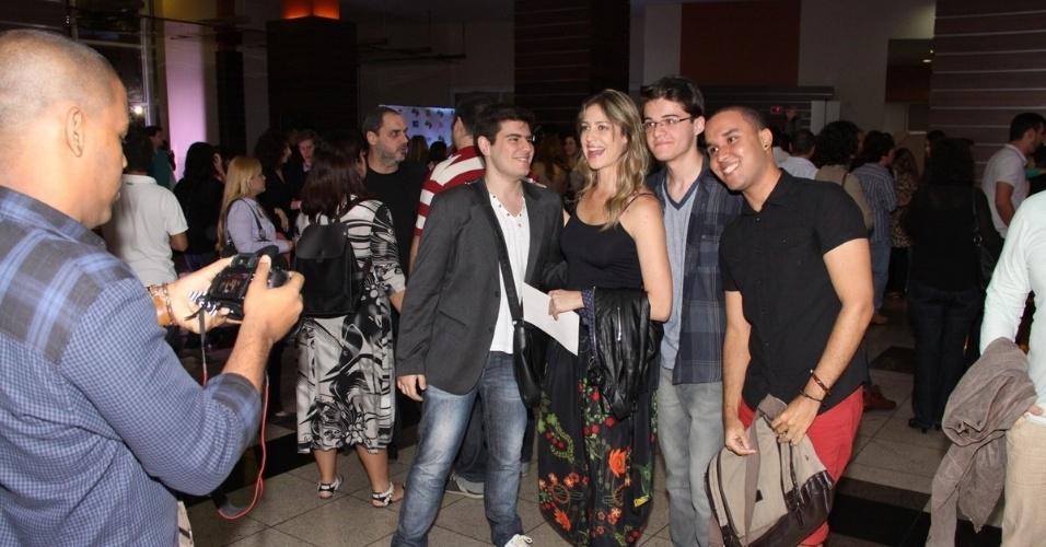 Luana Piovani na pré-estreia do filme