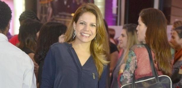 Nívea Stelmann na pré-estreia do filme