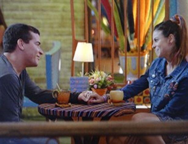 """Em """"Flor do Caribe"""", Rodrigo sai com Amaralina"""