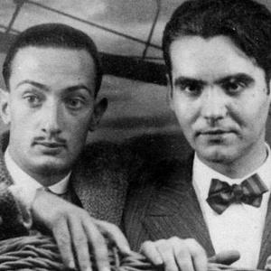 O pintor Salvador Dalí (esq) e o poeta Garcia Lorca - Reprodução
