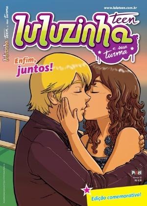 Bola e Luluzinha se beijam em edição comemorativa   - Reprodução