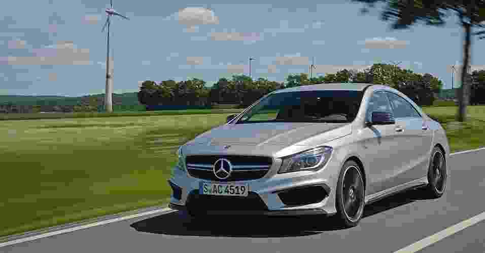 Mercedes-Benz CLA 45 AMG - André Deliberato/UOL